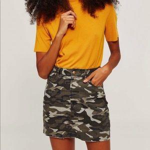Camp Denim Mini Skirt